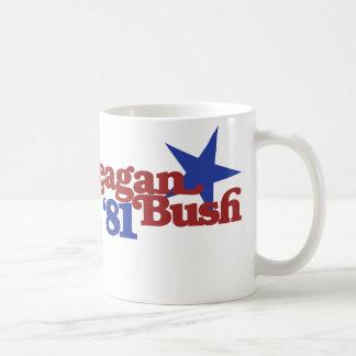 Reagan Bush 81 Mug