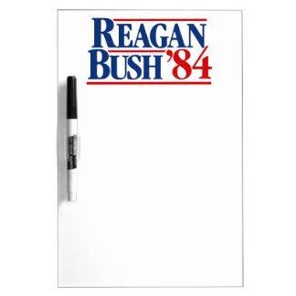 Reagan Bush 84 Campaign Dry-Erase Board