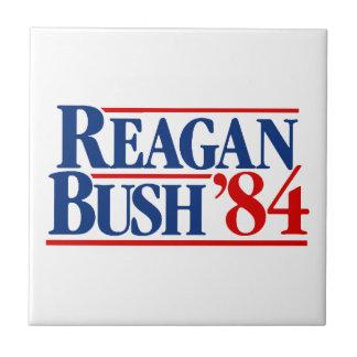 Reagan Bush 84 Campaign Tiles