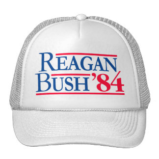Reagan Bush '84 Election Fratty Republican Cap