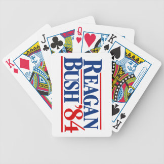 Reagan Bush '84 Poker Deck