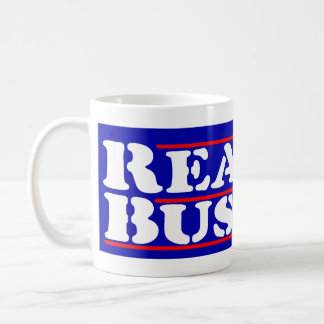Reagan Bush '84 Stencil Coffee Mug