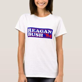 Reagan Bush '84 Stencil T-Shirt