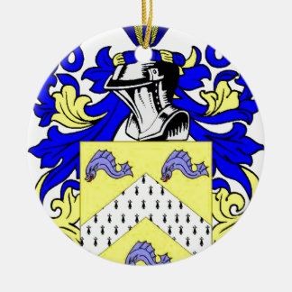 Reagan Coat of Arms Double-Sided Ceramic Round Christmas Ornament