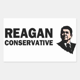 Reagan Conservative (Style 2) Rectangular Sticker