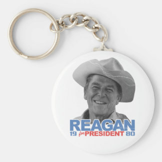 Reagan Cowboy 1980 Keychain