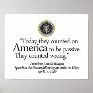 Reagan Freedom Poster