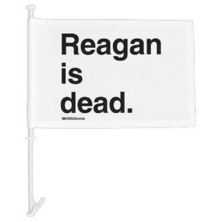 Reagan is dead car flag