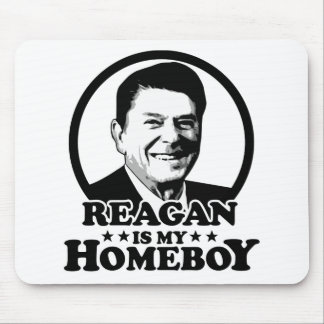 Reagan Is My Homeboy Mouse Pad