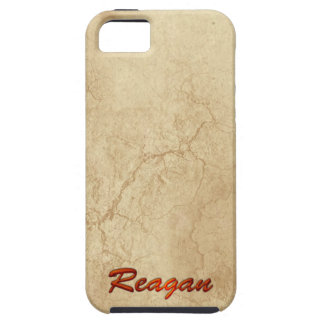 REAGAN Name Branded iPhone 5 Case