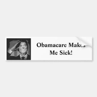 Reagan: Obamacare Makes Me Sick! Bumper Sticker
