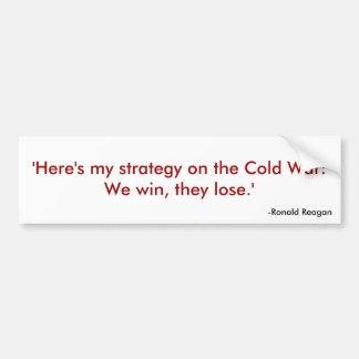 Reagan Quote 1 Bumper Sticker
