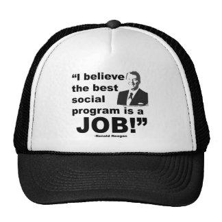 Reagan Quote 4 Mesh Hats