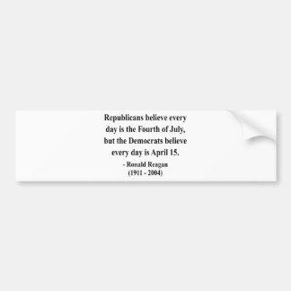 Reagan Quote 5a Bumper Stickers
