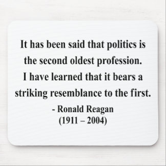 Reagan Quote 9a Mouse Pad