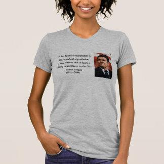 Reagan Quote 9b Tee Shirts
