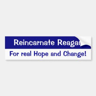 Reagan Reincarnation Bumper Sticker