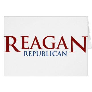 Reagan Republican Greeting Card