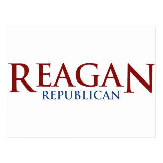 Reagan Republican Postcard