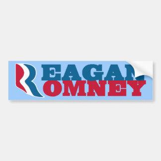 Reagan Romney Bumper Sticker