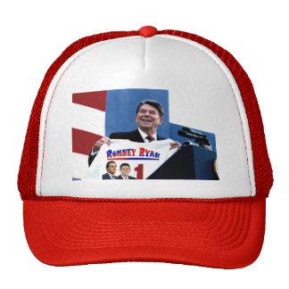 Reagan Supporting Romney-Ryan Trucker Hats