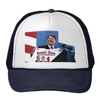 Reagan Supporting Romney-Ryan Mesh Hats