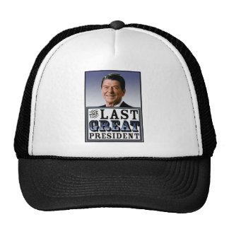 Reagan The Last Great President Mesh Hat