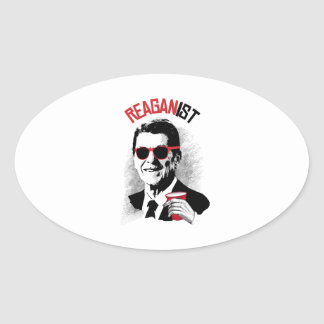 Reaganist Oval Sticker