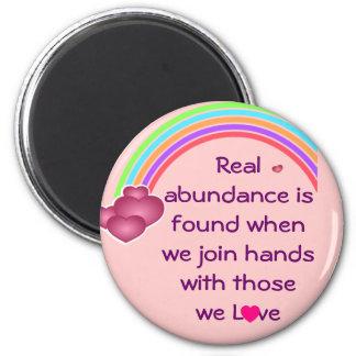 real abundance magnet