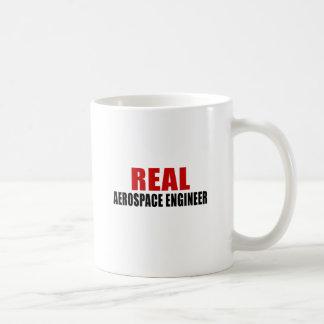 REAL AEROSPACE ENGINEER BASIC WHITE MUG
