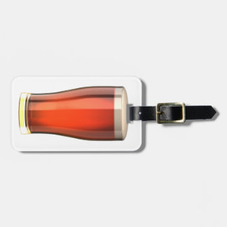 Real Ale Beer Luggage Tag