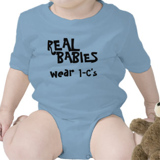 Real babies wear... baby creeper