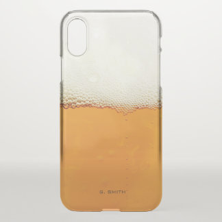 Real Beer Froth. iPhone X Case