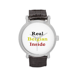 Real Belgian Inside Watches