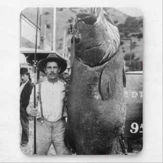 Real Big Fish, early 1900s Mouse Mat