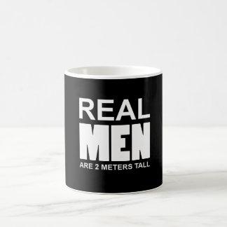 Real but are 2 metres' pine coffee mug
