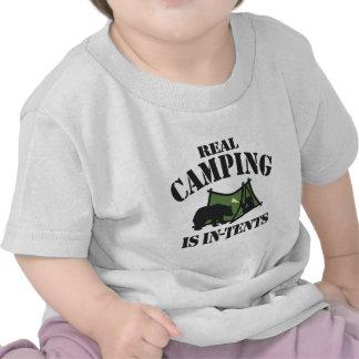 Real Camping T Shirt