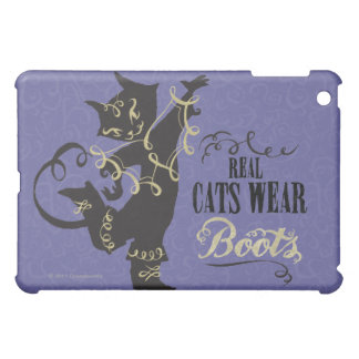 Real Cats Wear Boots iPad Mini Cases