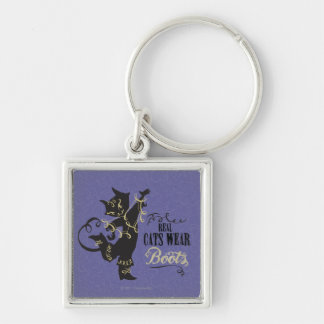 Real Cats Wear Boots Key Ring