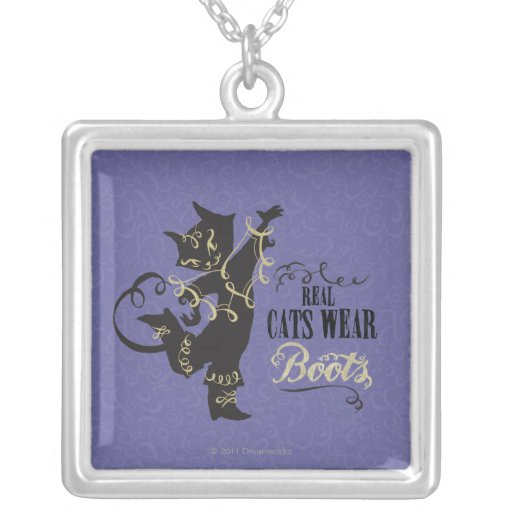 Real Cats Wear Boots Pendants