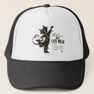 Real Cats Wear Boots Trucker Hat