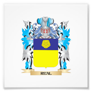 Real Coat of Arms - Family Crest Photo