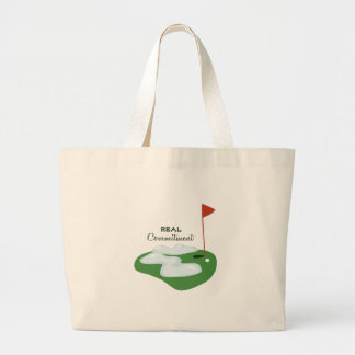 Real Commitment Tote Bags