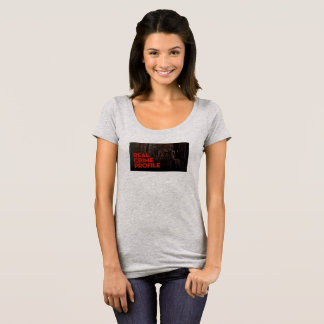 Real Crime Profile Scoop Neck Tee Shirt