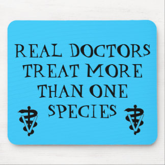 REAL DOC MOUSE MAT