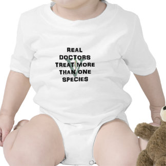 Real Doctors Treat More Than One Species Shirts