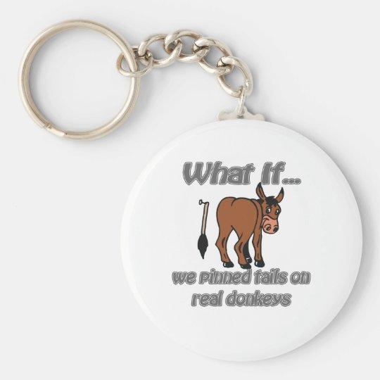 real donkeys key ring