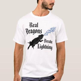 Real dragons breathe lightning T-Shirt