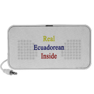 Real Ecuadorean Inside Travel Speakers
