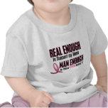 Real Enough BREAST CANCER T-Shirts (Nana)